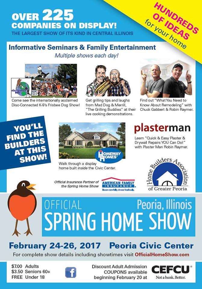 Peoria Spring Home Show 2017 Poster